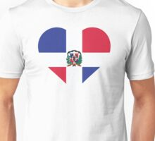 A heart for the Dominican Republic Unisex T-Shirt