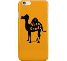 Camel Gripe iPhone Case/Skin