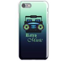 Retro Boombox iPhone Case/Skin