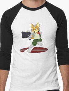 Fox - Super Smash Bros Melee Men's Baseball ¾ T-Shirt