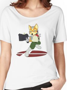 Fox - Super Smash Bros Melee Women's Relaxed Fit T-Shirt