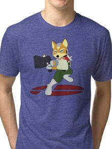 Fox - Super Smash Bros Melee Tri-blend T-Shirt