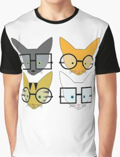 Cats' Eyes Graphic T-Shirt