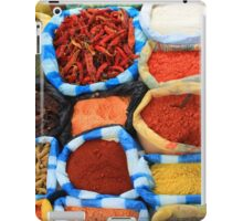 Colorful Spices at the Market iPad Case/Skin