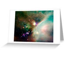 Newborn stars Greeting Card