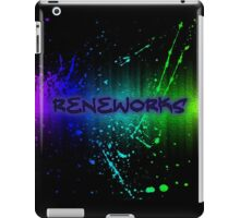ReneWorks Abstract Oil Paint iPad Case/Skin