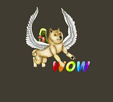 wow much pegasus doge Unisex T-Shirt