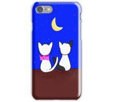 Cats in love iPhone Case/Skin