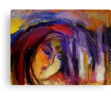 Fading into oblivion Canvas Print