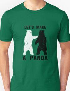 Let's Make A Panda T-Shirt