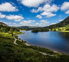 Rydal Water - The Lake District - England by Ian Wright