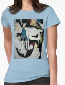 cubism Womens Fitted T-Shirt