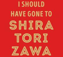I should have gone to Shiratorizawa Kids Tee