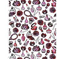 pink red green andrea lauren  Photographic Print