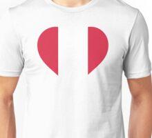 A Heart for Peru Unisex T-Shirt