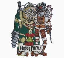 Bioshock - Happy Family One Piece - Long Sleeve