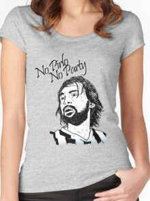 No Pirlo, No Party... Women's Fitted Scoop T-Shirt