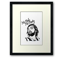 No Pirlo, No Party... Framed Print