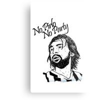 No Pirlo, No Party... Metal Print