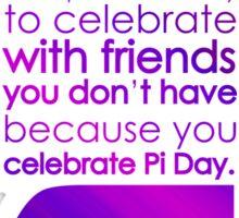 pi day 2 Sticker