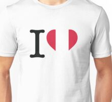 I Love Peru Unisex T-Shirt