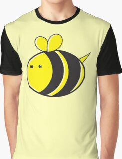 Cute little bumble fat bee Graphic T-Shirt