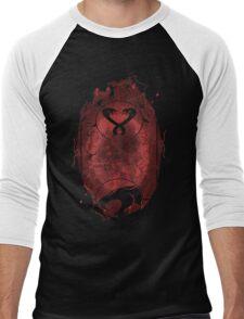 Evil Shrouds Us Men's Baseball ¾ T-Shirt