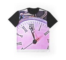 Zeit  - time Clock - Uhr Graphic T-Shirt