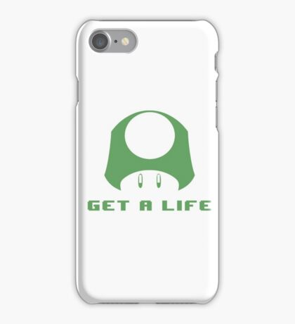 1-UP Get a life iPhone Case/Skin
