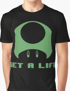 1-UP Get a life Graphic T-Shirt