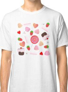 Candies pattern Classic T-Shirt