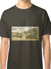Steam Threshing in South Elmsall, Yorkshire early 1940s Classic T-Shirt
