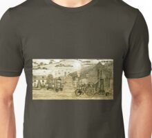 Steam Threshing in South Elmsall, Yorkshire early 1940s Unisex T-Shirt
