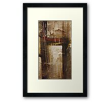 Hearth and Home Framed Print