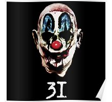 31 The Evil Clowns Horror Movie 2016 Directed by Rob Zombies Poster