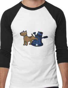 Doctor Wuff Men's Baseball ¾ T-Shirt