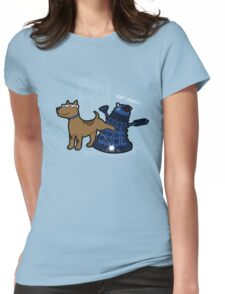 Doctor Wuff Womens Fitted T-Shirt