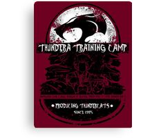 Thundera Training Camp Canvas Print