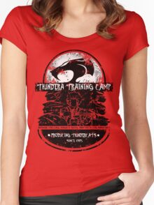 Thundera Training Camp Women's Fitted Scoop T-Shirt