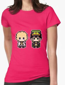 Pixel Yuichiro & Mikaela Womens Fitted T-Shirt
