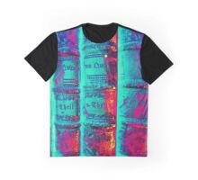 old Books - alte Bücher psychodelic Graphic T-Shirt