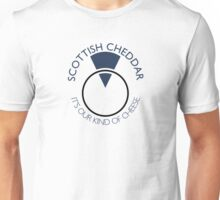 Scottish Cheddar: Blue T-Shirt