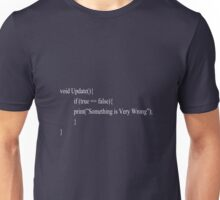 Coders Geek Text Design Unisex T-Shirt