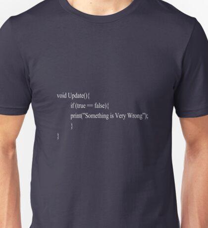 Coders Geek Text Design Unisex T-Shirt