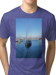Brixham Harbour Tri-blend T-Shirt