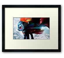 Mare of Steel 3D - Ideal of Hope Framed Print