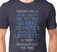 lafayette's frankly ridiculous name Unisex T-Shirt