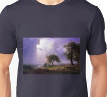Albert Bierstadt California Spring Cattle Unisex T-Shirt