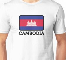 National flag of Cambodia Unisex T-Shirt
