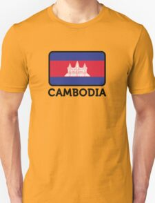 National flag of Cambodia T-Shirt